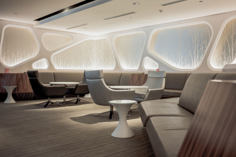 best airport lounges